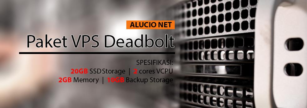 Paket VPS Deadbolt untuk Kelancaran dan Keamanan Server Data